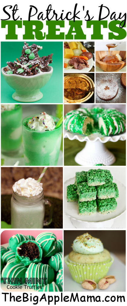 St. Patrick's Day Desserts and Treats Ideas