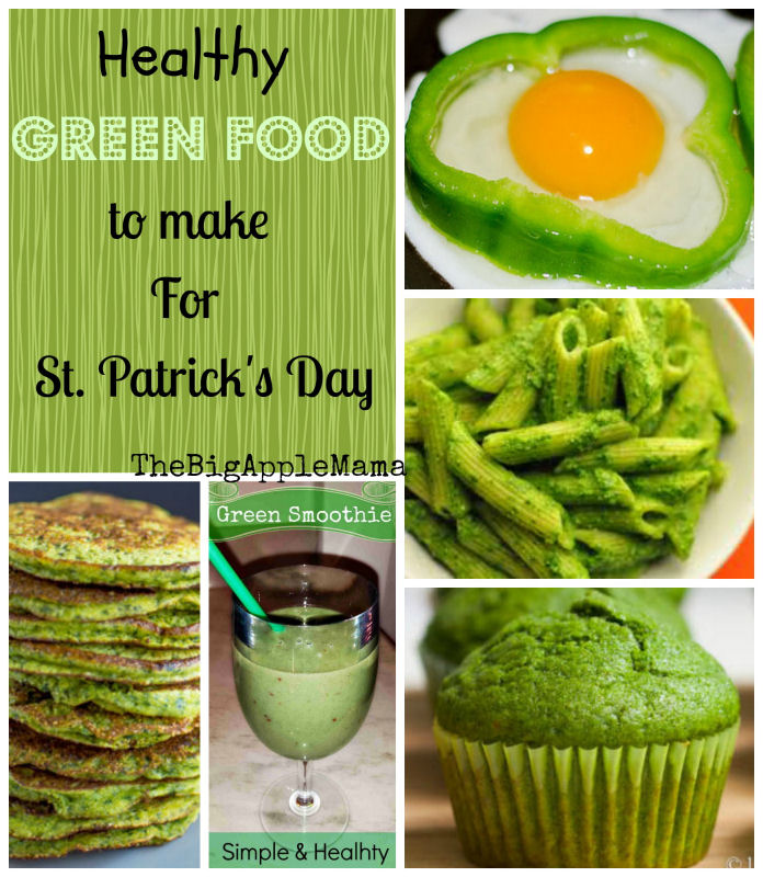 Healthy green foods to make for st patricks day forumfinder Image collections