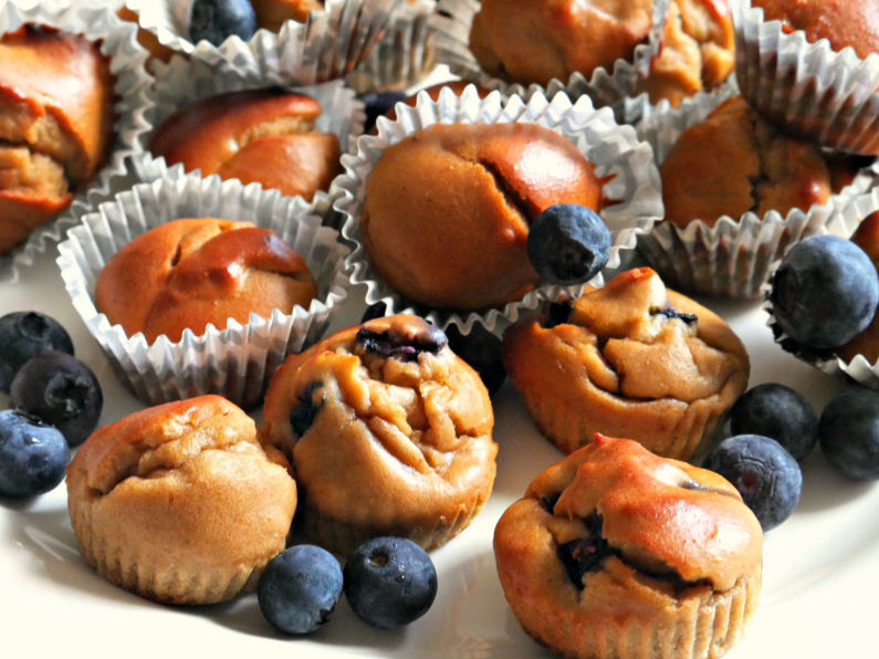 healthy muffins recipe