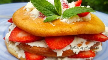 Low Carb Strawberry Shortcake Dessert